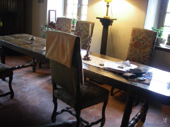 Table d'auberge du XIXe siècle - Jaligny