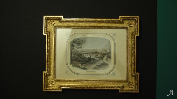 Cadre ancien du XIXe siècle - Elancourt
