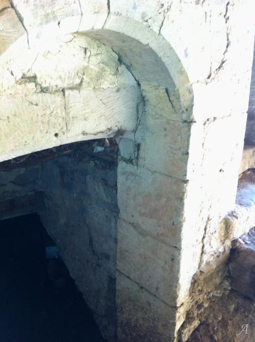 Voûte en pierre calcaire du XVIe siècle - Rainville
