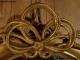 Miroir ovale doré du XIXe siècle Napoléon III - 2