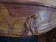 Cheminée en pierre marbrière d'époque Louis XV - 4