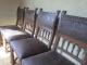 Suite de 4 chaises Henri II - 3