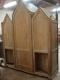 Confessionnal de style gothique années 1930 - 2