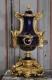 Garniture de cheminée en porcelaine bleue de Sèvres, Napoléon III - 4