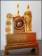 Pendule en bronze doré d'époque Empire - 3