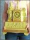 Pendule en bronze doré d'époque Empire - 4