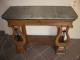 Ancienne console d'époque restauration - 2