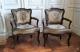 Paire de fauteuils cabriolet d'époque Louis XV et XVIIIe siècle - 2