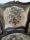 Paire de fauteuils cabriolet d'époque Louis XV et XVIIIe siècle - 3