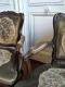 Paire de fauteuils cabriolet d'époque Louis XV et XVIIIe siècle - 4