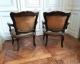 Paire de fauteuils cabriolet d'époque Louis XV et XVIIIe siècle - 5