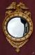 Miroir convexe à l'aigle en bois doré - 5