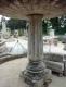 Large fontaine ancienne en pierres patinées à double vasque à débordement - FA347 - 3