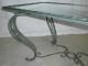 Table basse en fer forgé - 3