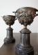 Cassolette Napoléon III en bronze  pour pendule - 3