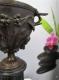 Cassolette Napoléon III en bronze  pour pendule - 5