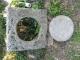 Taque de puits en pierre bleue - 3