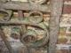 Porte ou portillon ancien en fer forgé monté avec rivets - 4