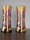 Paire de vases Legras Art Nouveau - 5