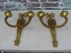 Lustre en bronze doré de style louis XVI avec appliques assorties - 3