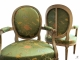 Paire de fauteuils cabriolet époque Louis XVI - 4