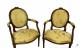 Paire de fauteuils Louis XVI du XVIIIe siècle - 4