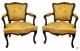 Paire de fauteuils époque Louis XV - 2
