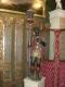 Grande statue en bois polychrome du XVIIe siècle - 3