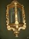 Lanterne en bois doré XIXe siècle d'Italie - 2