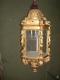 Lanterne en bois doré XIXe siècle d'Italie - 4