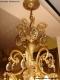Lustre ancien à pendeloques avec 22 lumières sur deux niveaux - 3