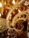 Lustre ancien à pendeloques avec 22 lumières sur deux niveaux - 4