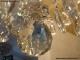 Lustre ancien à pampilles de cristal sur 3 niveaux 20 lumières - 3