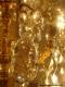 Lustre ancien à pampilles de cristal sur 3 niveaux 20 lumières - 4