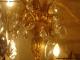 Lustre ancien à pampilles de cristal sur 3 niveaux 20 lumières - 5