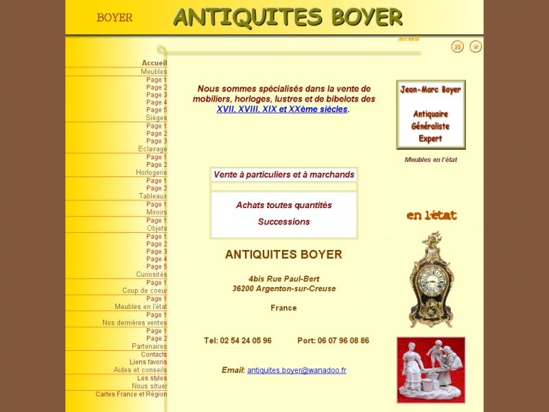 Antiquités Boyer - Argenton sur Creuse