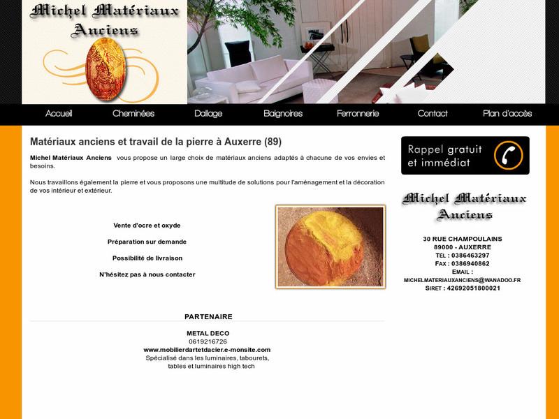 Michel Matériaux Anciens - Auxerre