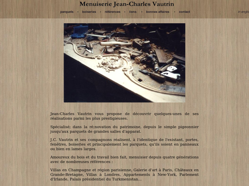Menuiserie Jean-Charles Vautrin - Bréviandes