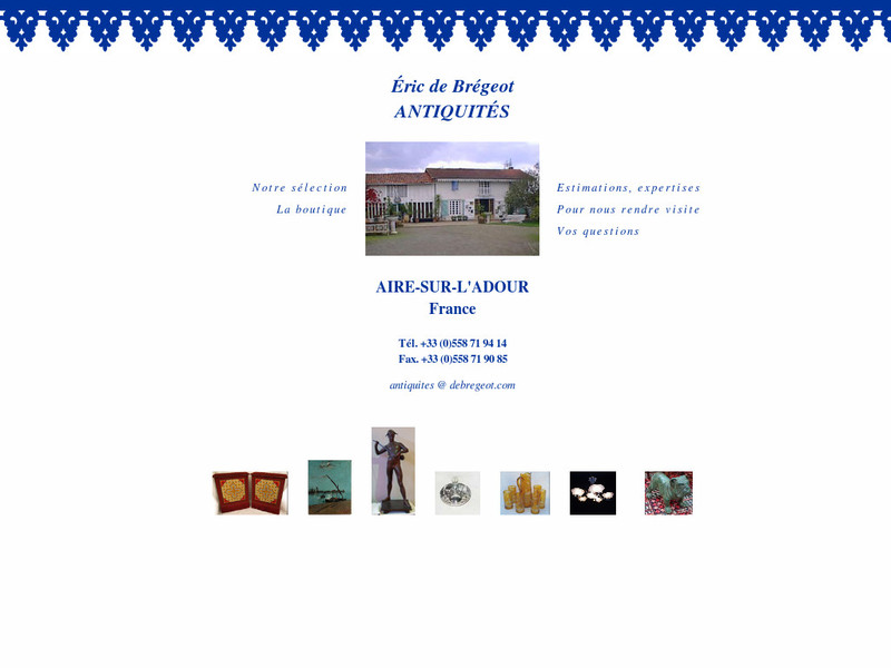 Eric de Brégeot Antiquités - Aire sur l'Adour