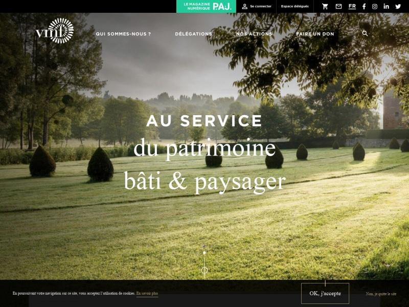 Vieilles Maisons Francaises - www.vmfpatrimoine.org