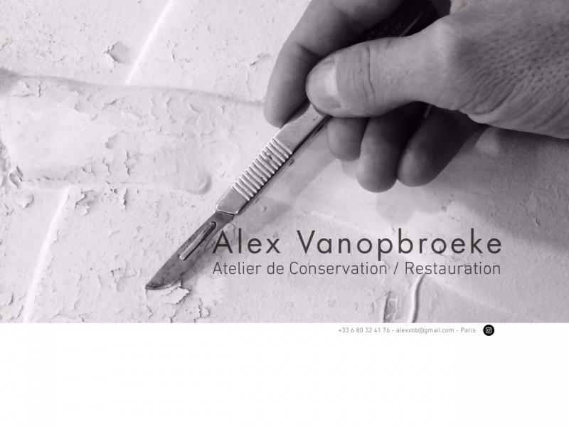 Alex Vanopbroeke - Paris 17e