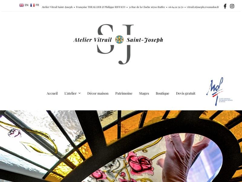 Atelier de Vitrail Saint Joseph - www.atelier-vitrail.com