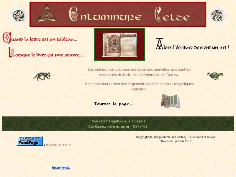 Enluminures Celtes - Courpière