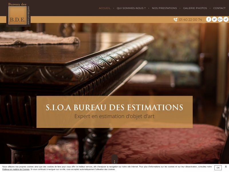 SIOA Bureau des Estimations - Paris 9e