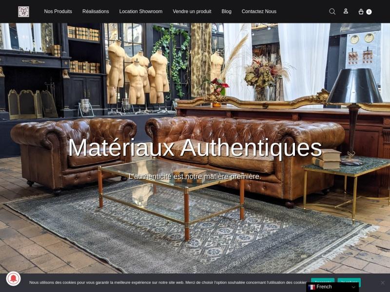 Architecture et Matériaux Authentiques - www.antiquedeco.eu