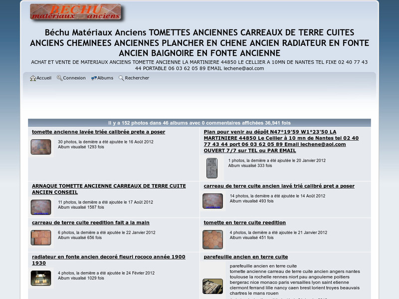 Bechu Matériaux Anciens - Le Cellier