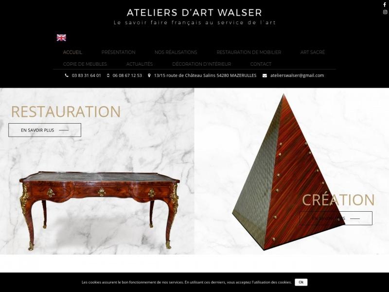 Ateliers d'Art Walser - www.ateliers-walser.com