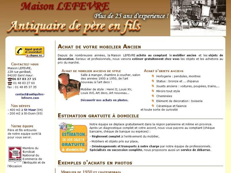 Maison Lefevre - Saint Maur des Fossés