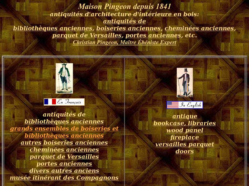 Maison Christian Pingeon - Paris 3e