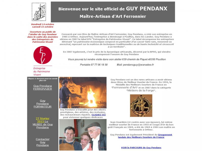 Guy Pendanx - Pouillon